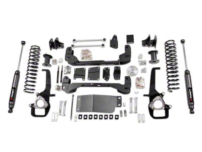 RBP 4 in. Suspension Lift Kit w/ Shocks (09-12 4WD RAM 1500, Excluding TRX4)