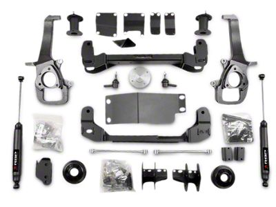 RBP 4 in. Suspension Lift Kit w/ Shocks (13-18 4WD RAM 1500 w/o Air Ride)
