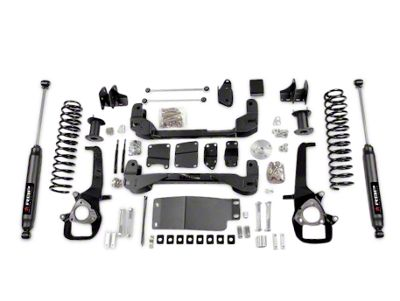 RBP 6 in. Suspension Lift Kit w/ Shocks (09-12 4WD RAM 1500, Excluding TRX4)