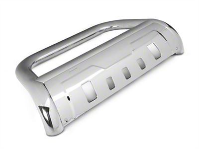 Duratrek 3.5 in. Oval Bull Bar w/ Formed Skid Plate - Stainless Steel (03-05 RAM 1500)