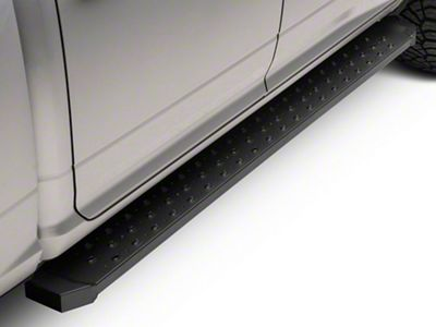 Barricade Rattler Steel Running Boards - Black (09-18 RAM 1500)
