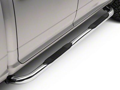 Barricade 3 in. Side Step Bars - Stainless Steel (09-18 RAM 1500)