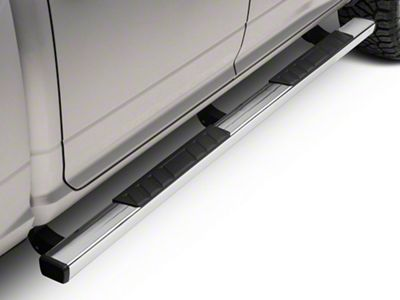 Barricade T4 Side Step Bars - Polished Stainless (09-18 RAM 1500 Quad Cab, Crew Cab)
