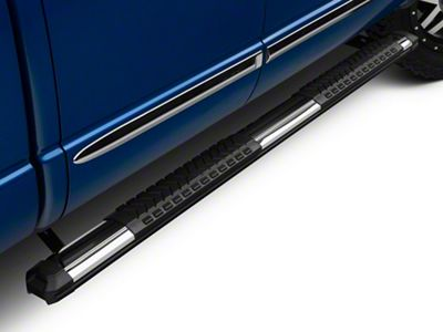 Barricade Saber 5 in. Aluminum Side Step Bars (02-08 RAM 1500 Quad Cab)