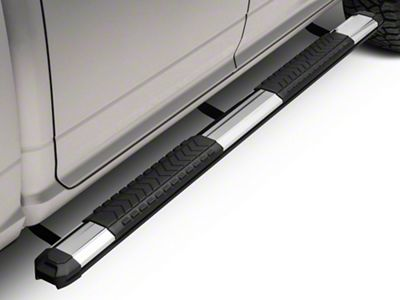 Barricade Saber 5 in. Aluminum Side Step Bars (09-18 RAM 1500 Quad Cab, Crew Cab)