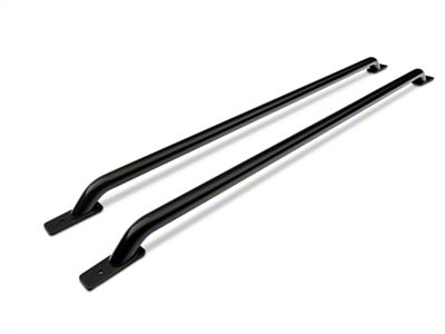 Barricade Bed Rails - Black (02-18 RAM 1500 w/ 6.4 or 8 ft. Box)