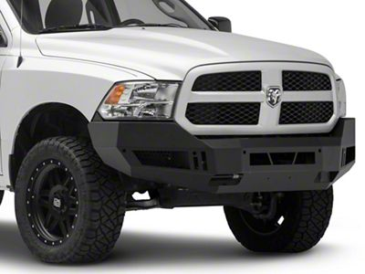 Barricade Extreme HD Front Bumper - Textured Black (13-18 RAM 1500, Excluding Rebel)