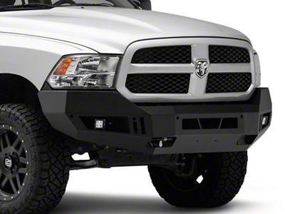Barricade Extreme HD Front Bumper w/ LED Fog Lights - Textured Black (13-18 RAM 1500, Excluding Rebel)
