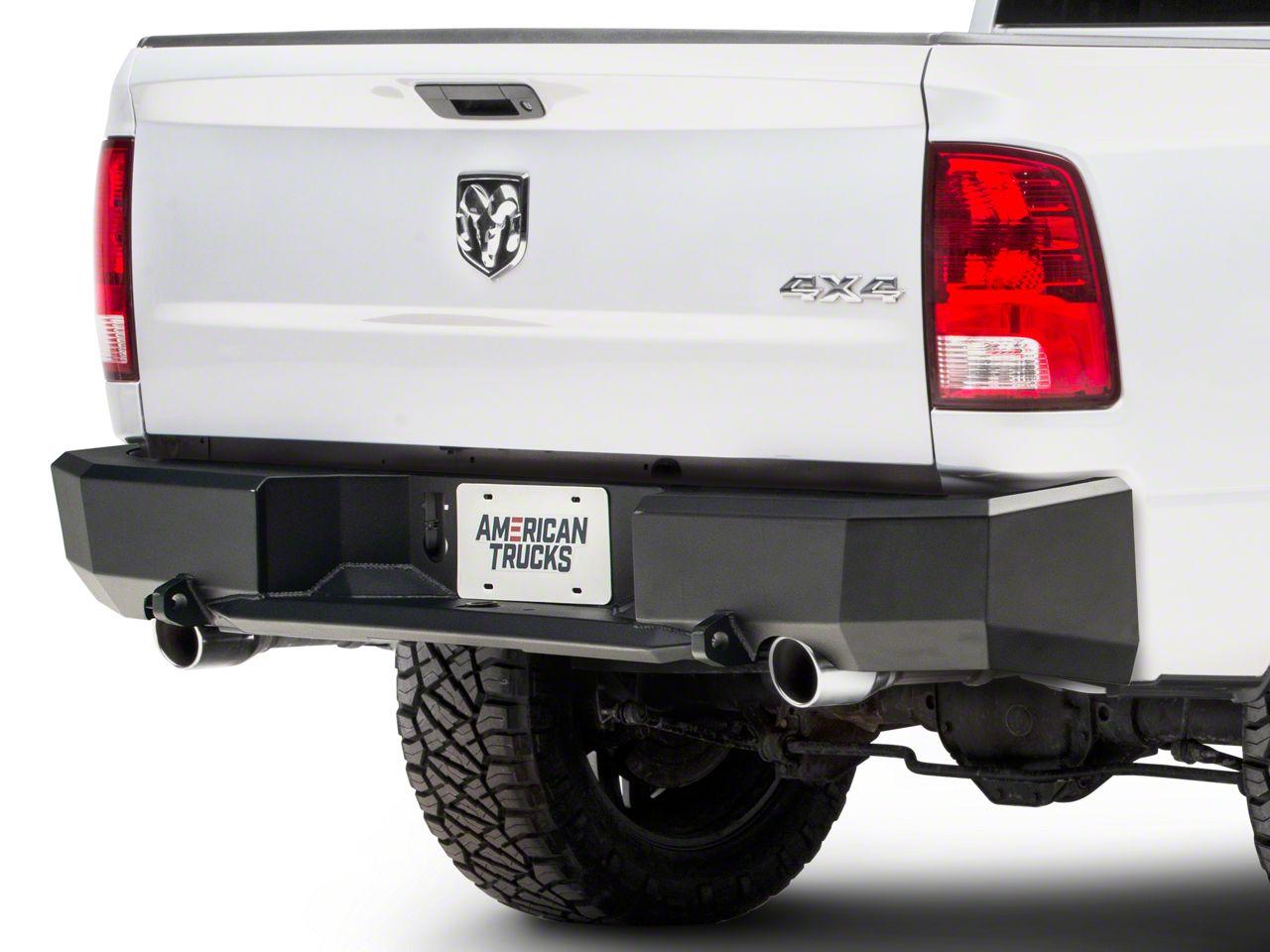 ICI Magnum Rear Bumper (09-18 RAM 1500 w/ Factory Dual Exhaust)