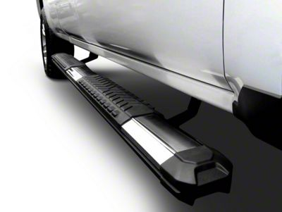 Black Horse Off Road Cutlass Running Boards - Aluminum (02-08 RAM 1500 Quad Cab)