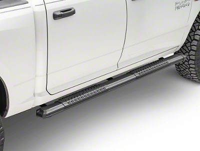 Black Horse Off Road Cutlass Running Boards - Black (02-08 RAM 1500 Quad Cab)