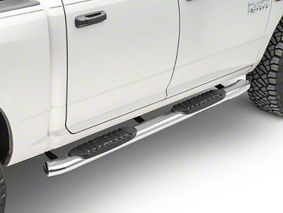 Black Horse Off Road 5 in. Extreme Side Step Bars - Stainless Steel (09-18 RAM 1500 Quad Cab, Crew Cab)