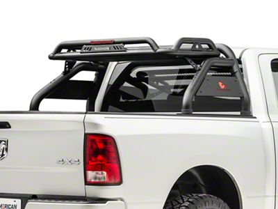 Black Horse Off Road Atlas Roll Bar - Black (09-18 RAM 1500 w/o Ram Box)