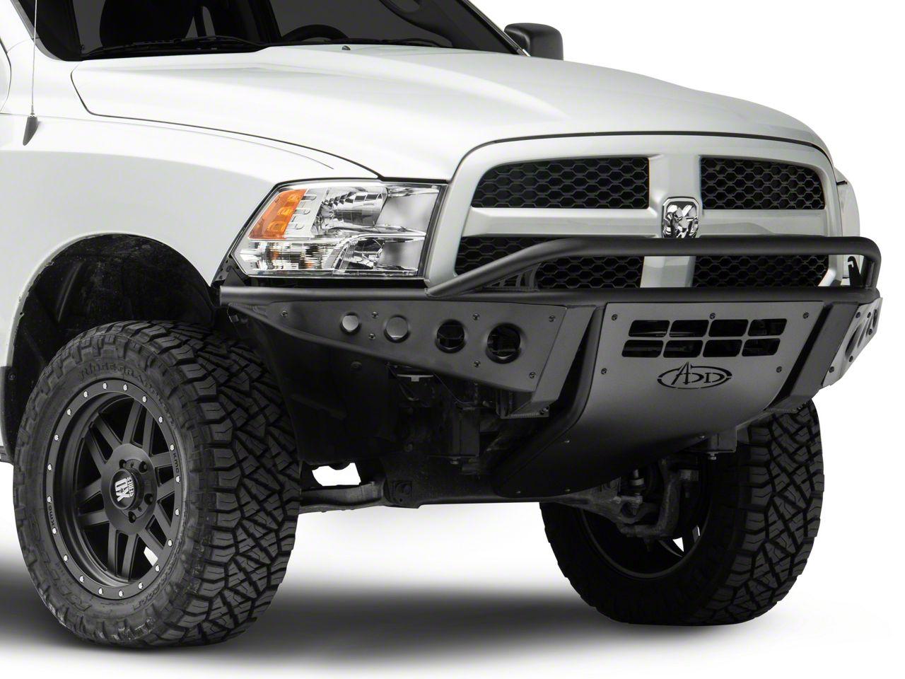 Addictive Desert Designs Stealth Front Bumper (09-18 RAM 1500, Excluding EcoDiesel & Rebel)