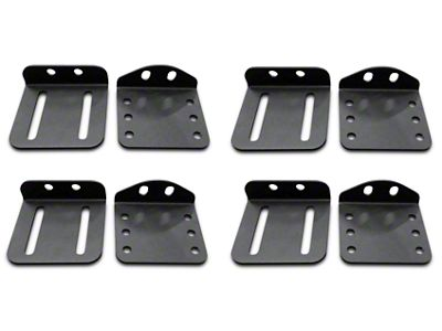 Addictive Desert Designs Hard Top Pivot Roof Mount Kit for MaxRax Roof Rack (02-19 RAM 1500)