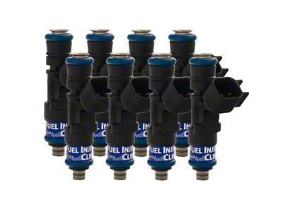 Fuel Injector Clinic Fuel Injector Set - 445cc (02-13 4.7L RAM 1500; 03-18 5.7L RAM 1500)