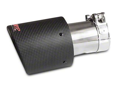 MBRP 4 in. Exhaust Tip - Carbon Fiber - 2.5 in. Connection (02-19 RAM 1500)