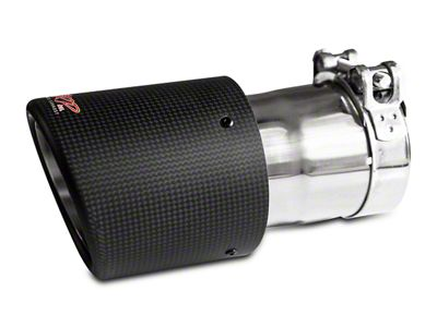 MBRP 4.5 in. Exhaust Tip - Carbon Fiber - 3 in. Connection (02-19 RAM 1500)