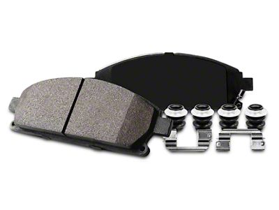 Power Stop Z23 Evolution Sport Ceramic Brake Pads - Rear Pair (02-18 RAM 1500, Excluding SRT-10)
