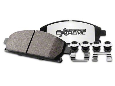 Power Stop Z36 Extreme Truck & Tow Carbon-Ceramic Brake Pads - Front Pair (02-18 RAM 1500, Excluding SRT-10)