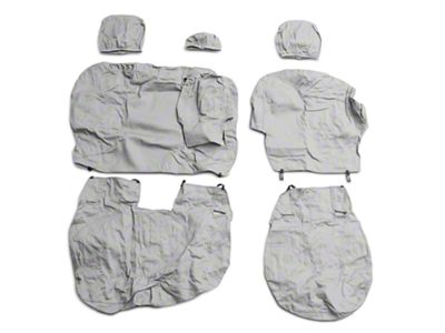 Covercraft SeatSaver 2nd Row Seat Cover - Gray (09-18 RAM 1500 Quad Cab, Crew Cab)