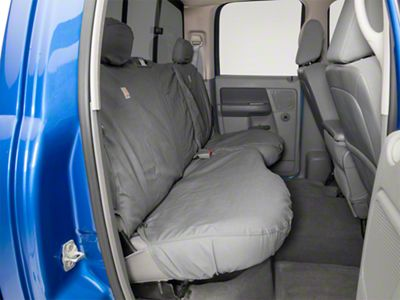 Covercraft Carhartt SeatSaver 2nd Row Seat Cover - Gravel (09-18 RAM 1500 Quad Cab, Crew Cab)