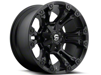 Fuel Wheels Vapor Matte Black 5-Lug Wheel - 20x9 (02-18 RAM 1500, Excluding Mega Cab)