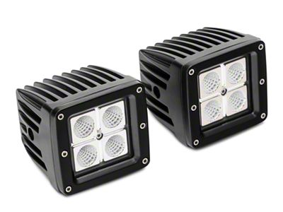 Barricade LED Fog Lights for Barricade Extreme HD Front Bumpers (02-18 RAM 1500)