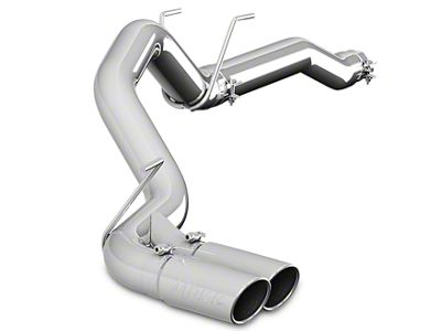 MBRP 3.5 in. XP Series Filter-Back Single Exhaust System w/ Dual Tips - Side Exit (14-18 3.0L EcoDiesel RAM 1500)