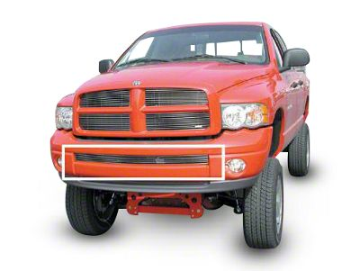 T-REX Billet Lower Bumper Grille Insert for Painted Bumpers - Polished (02-05 RAM 1500)