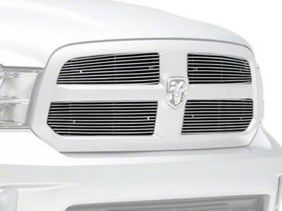 T-REX Billet Series Upper Overlay Grilles - Polished (13-18 RAM 1500, Excluding Rebel & Sport)