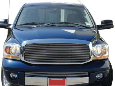 T-REX Billet Upper Grille Insert - Polished (06-08 RAM 1500)