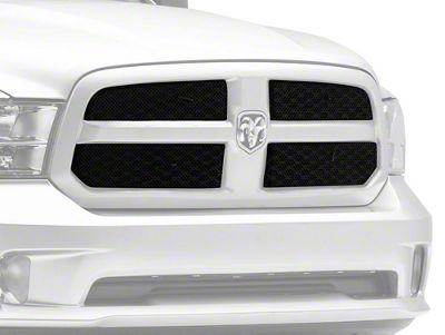 T-REX Sport Series Upper Overlay Mesh Grilles - Black (13-18 RAM 1500, Excluding Rebel & Sport)