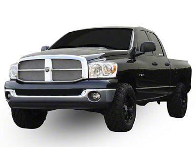 T-REX Upper Class Series Upper Grille Mesh Inserts - Polished (06-08 RAM 1500)