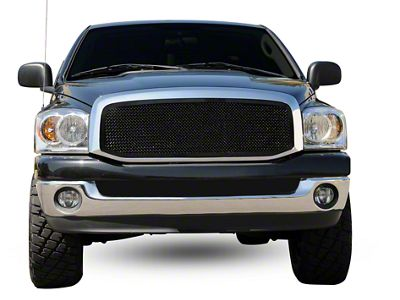 T-REX Upper Class Series Upper Mesh Grille Insert - Black (06-08 RAM 1500)