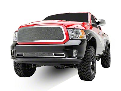 T-REX Upper Class Series Upper Mesh Grille Insert - Polished (13-18 RAM 1500, Excluding Rebel)