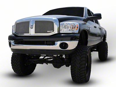 T-REX Upper Class Series Upper Mesh Grilles Insert - Polished (06-08 RAM 1500)