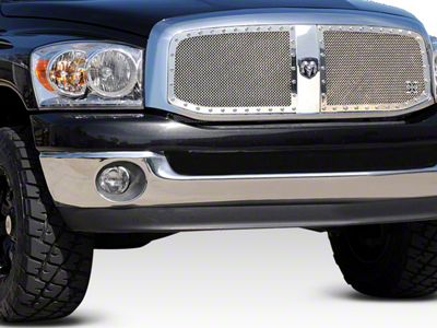 T-REX X-Metal Series Upper Grilles Insert - Polished (06-08 RAM 1500)