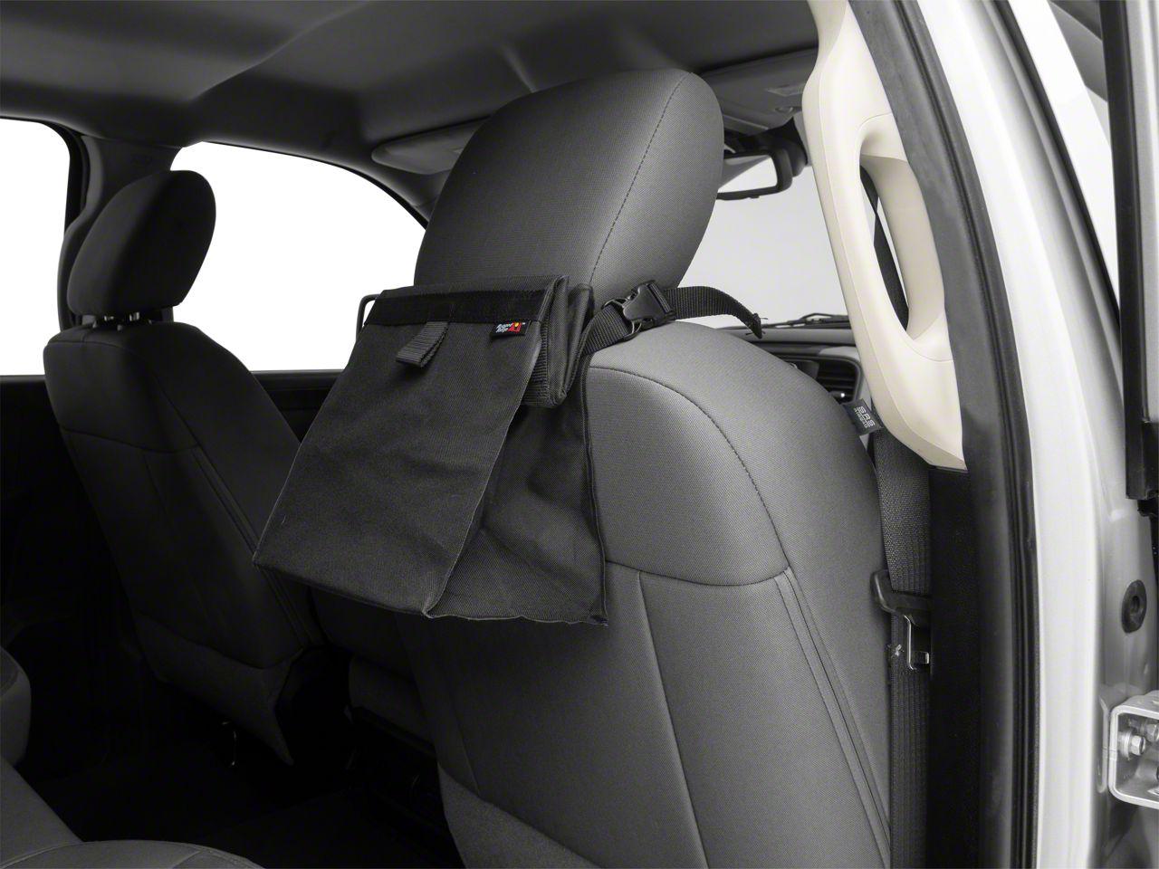 Rugged Ridge Removable Seat Back Trash Bin (02-19 RAM 1500)