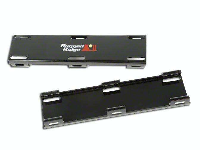 Rugged Ridge 20 in. LED Light Bar Cover Kit - Black
