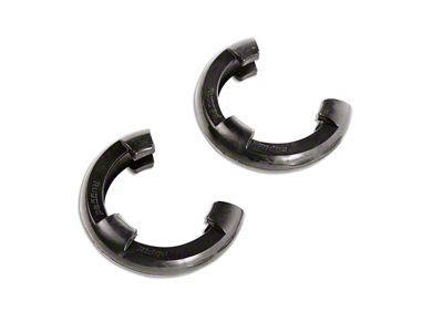 Rugged Ridge 7/8 in. Black D-Shackle Isolators - Pair