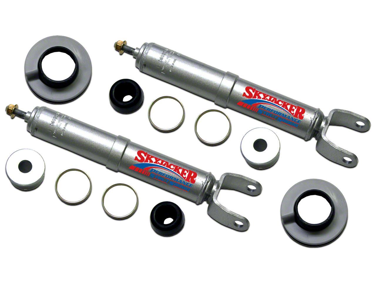 SkyJacker 1.5-2.5 in. Adjustable Front Strut Leveling Kit (06-18 4WD RAM 1500)