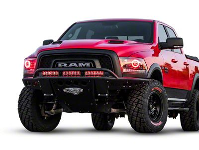 Addictive Desert Designs Stealth R Front Bumper w/ Winch Mount (15-18 RAM 1500 Rebel)