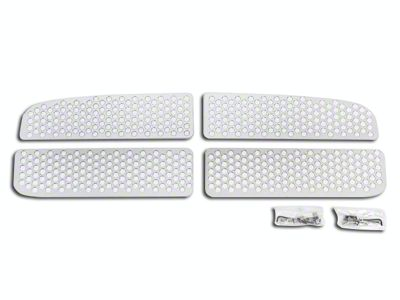 Putco Punch Stainless Steel Upper Overlay Grilles - Polished (02-05 RAM 1500)