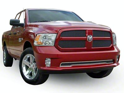 E&G Heavy Mesh Upper & Lower Grille Inserts - Black Ice (13-18 RAM 1500, Excluding Express, Rebel & Sport)