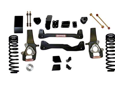 SkyJacker 4 in. Standard Suspension Lift Kit w/ Shocks (14-18 3.0L EcoDiesel 4WD RAM 1500)