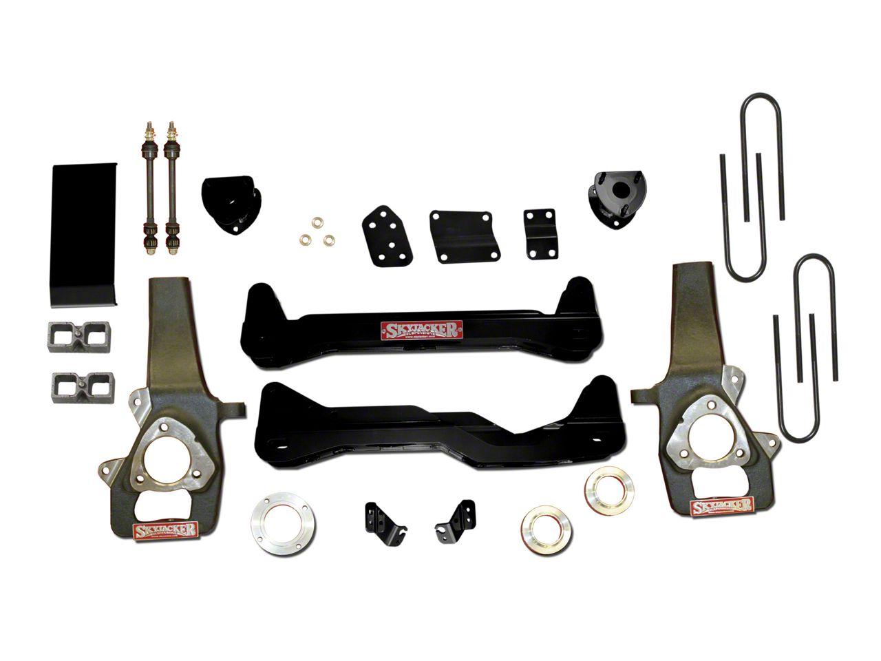 SkyJacker 4 in. Standard Suspension Lift Kit w/ Shocks (06-08 4WD RAM 1500)