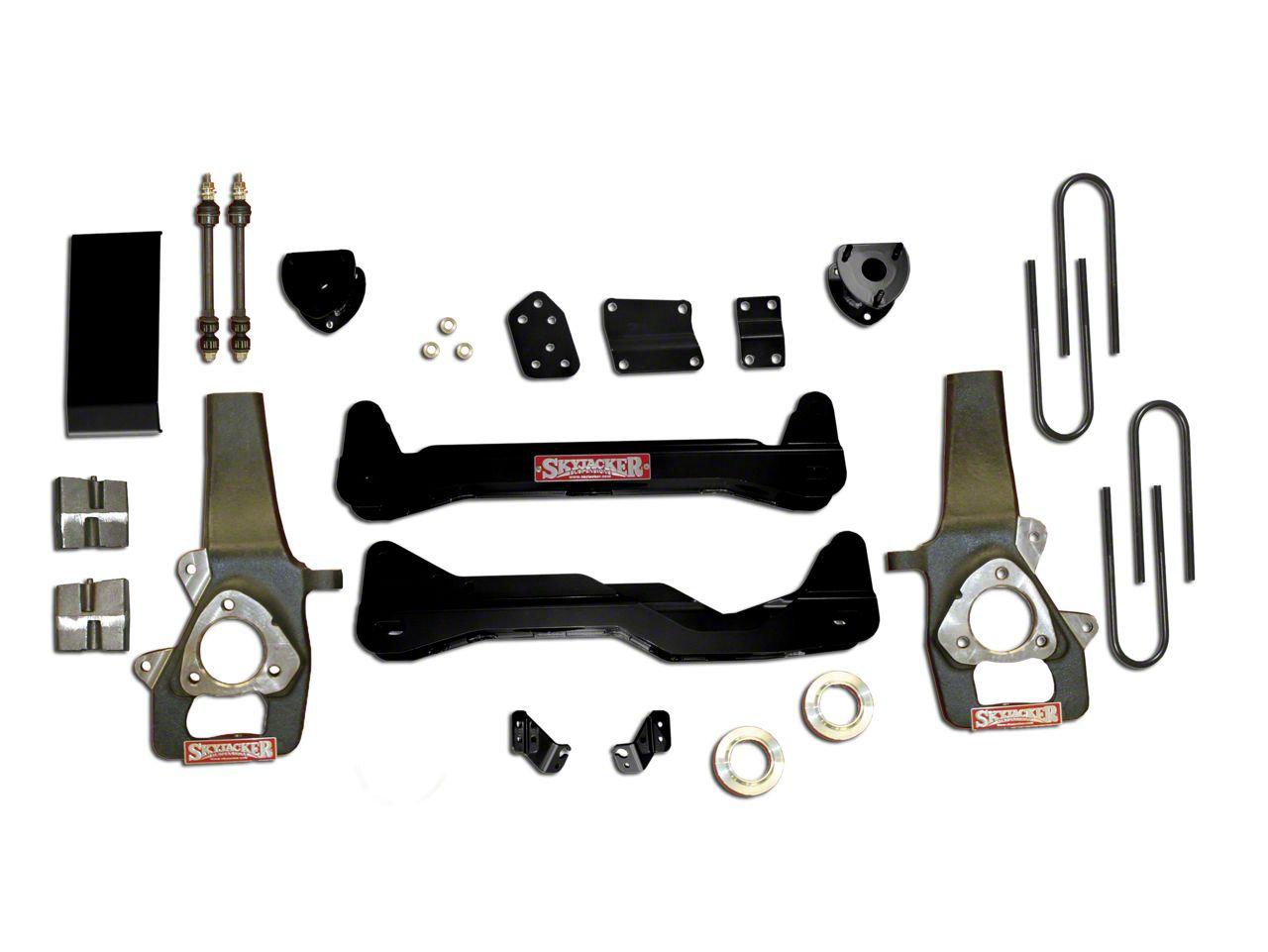 SkyJacker 6 in. Standard Suspension Lift Kit w/ Shocks (06-08 4WD RAM 1500)