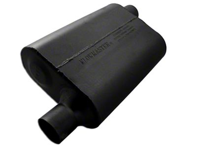 Flowmaster 40 Series Delta Flow Offset/Offset Oval Muffler - 2.25 in. (Universal Fitment)