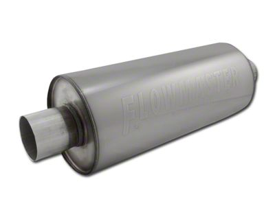 Flowmaster DBX Series Center/Center Bullet Style Muffer - 2.5 in. (Universal Fitment)